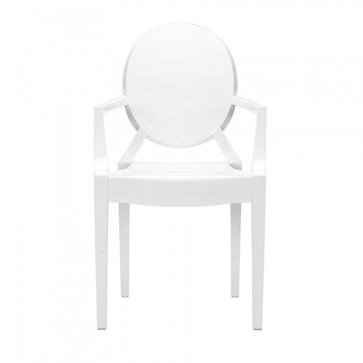 Krzesło LOUIS białe