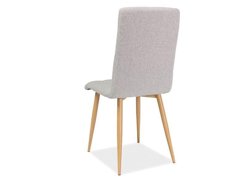 Krzesło OTTO beżowe-dąb