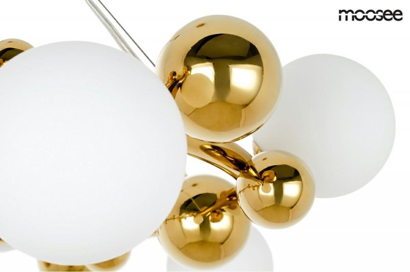 Lampa wisząca VALENTINO M złota