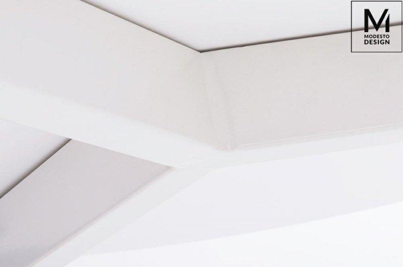 Stół NOLAN FI 60 biały/buk