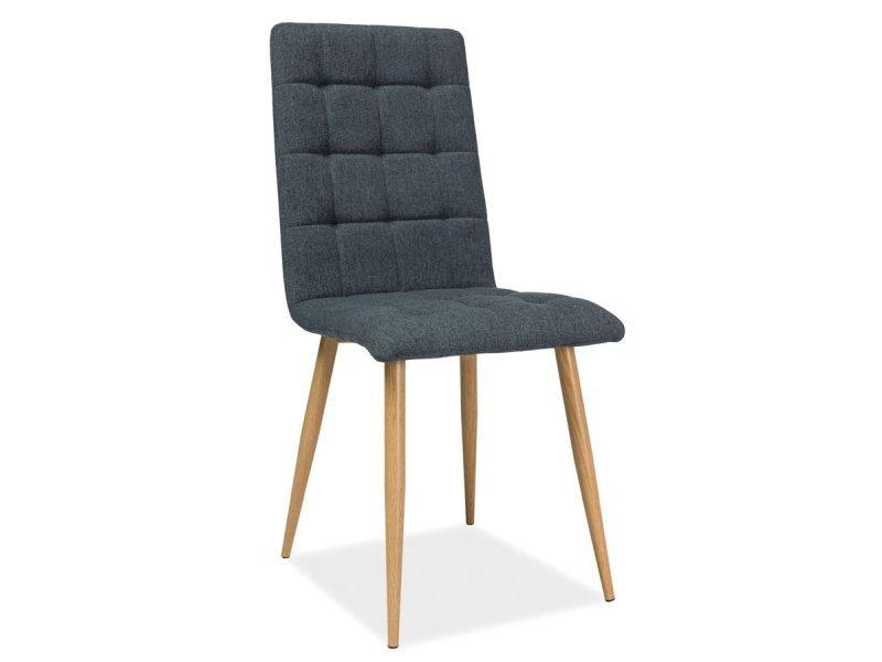 Krzesło OTTO grafit-dąb