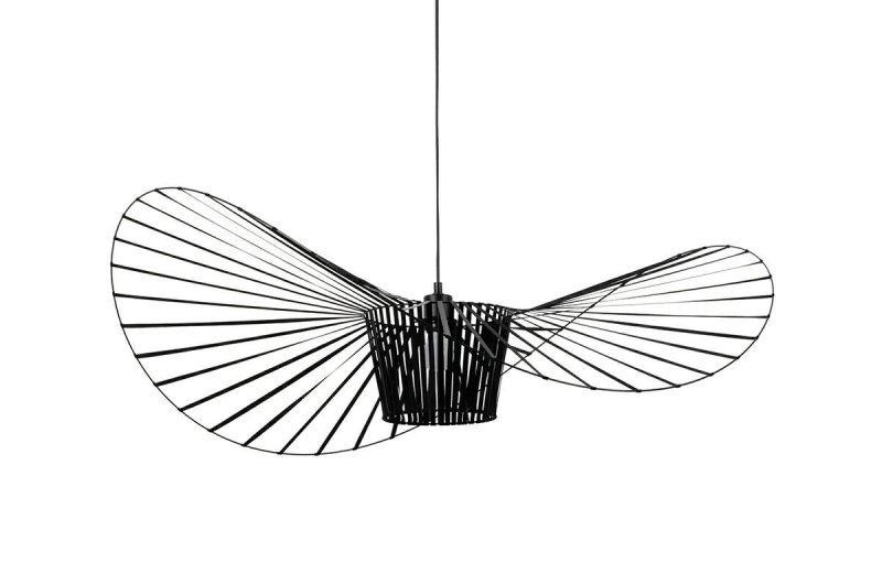 Lampa wisząca CAPELLO FI 80 czarna