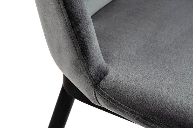 Krzesło DIEGO ciemno-szare