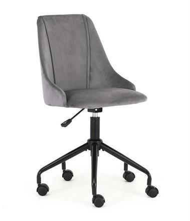 Fotel młodzieżowy BREAK popielaty/czarny