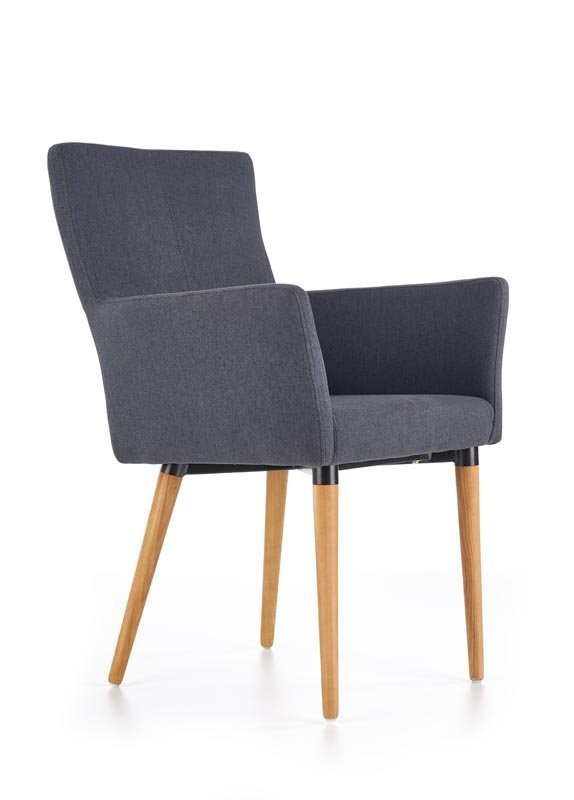 Krzesło K274 ciemno popielate