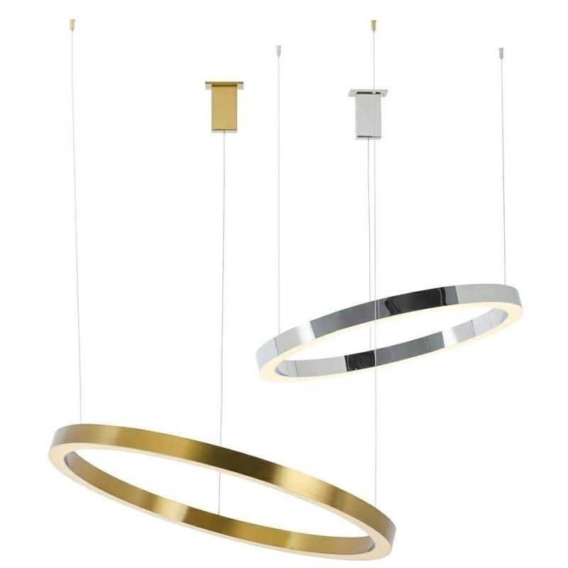 Lampa wisząca RING 80 srebrna