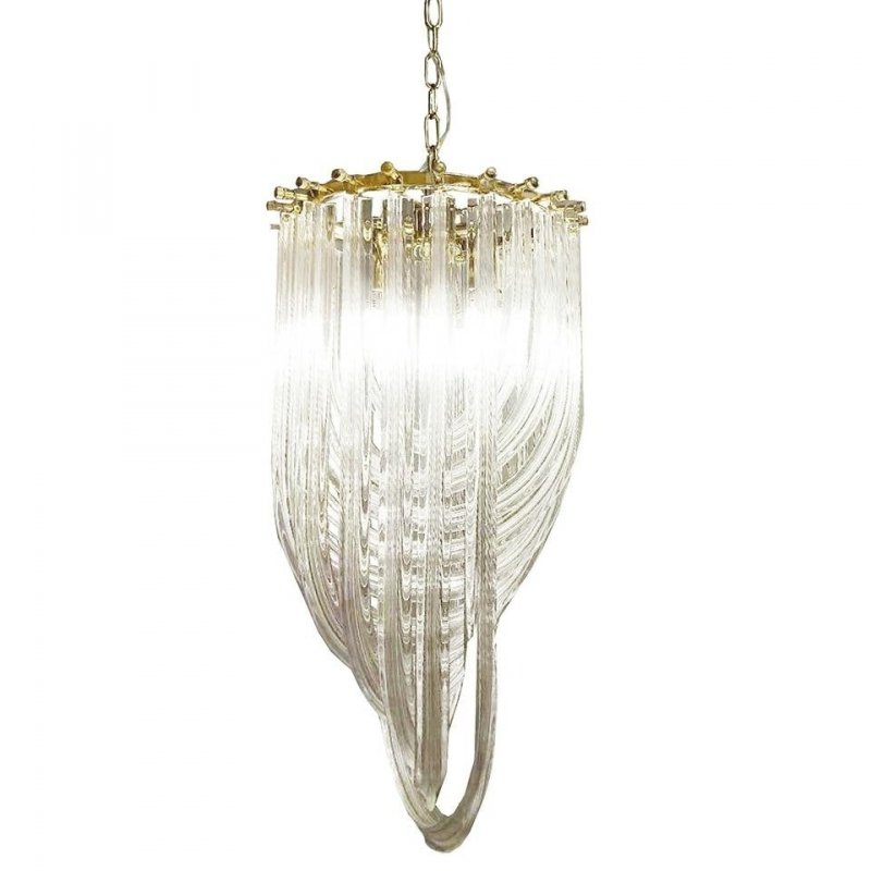 Lampa wisząca MURANO L złota