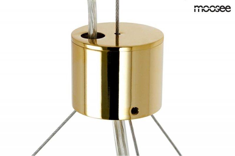 Lampa wisząca VALENTINO L złota
