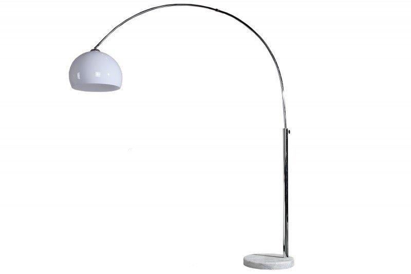 Lampa podłogowa BIG BOW II biała