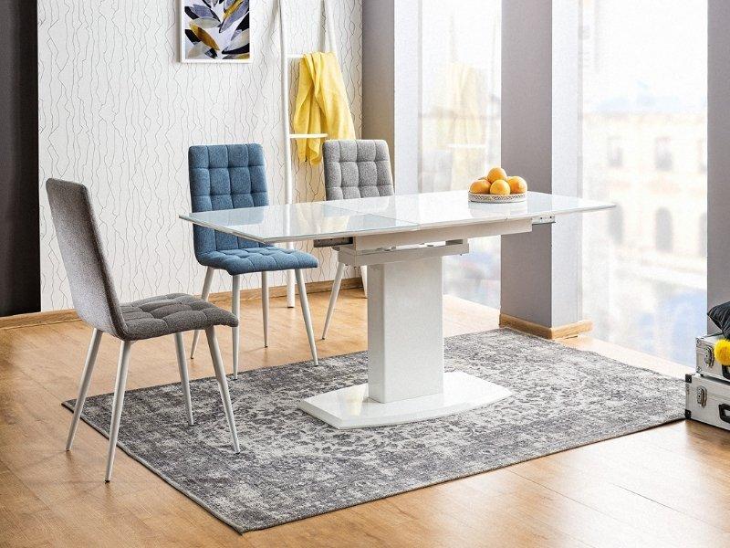 Krzesło OTTO szaro-białe