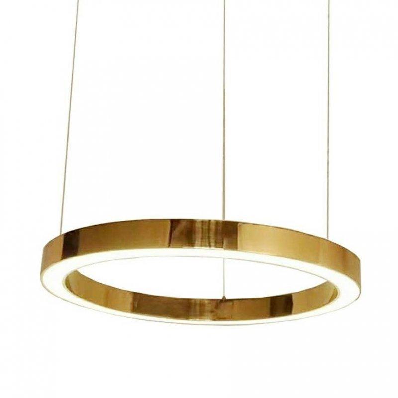 Lampa wisząca RING 100 złota