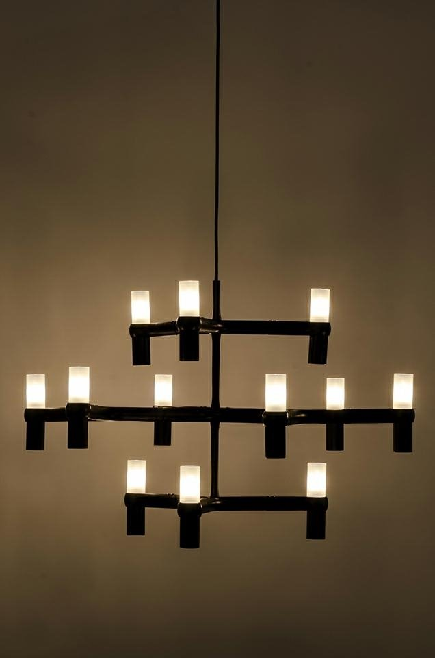 Lampa wisząca ATOMIC czarna