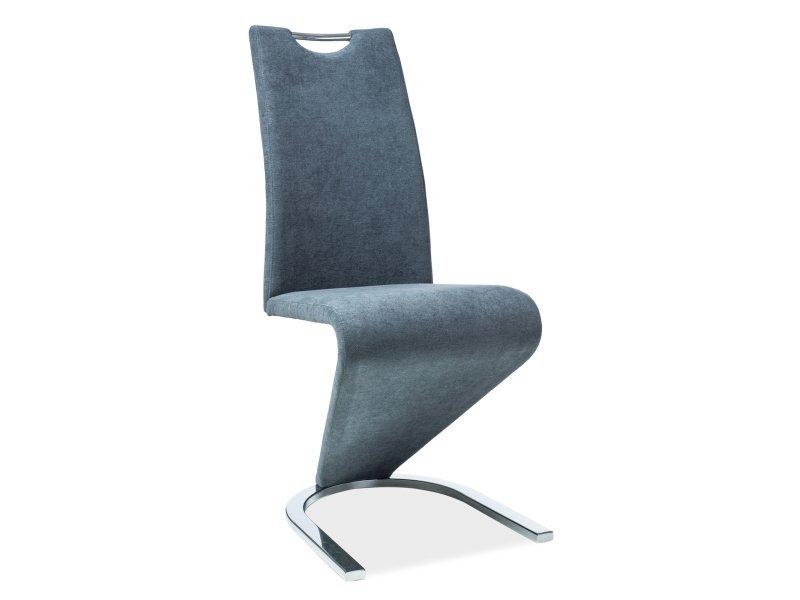 Krzesło H090 grafit materiał