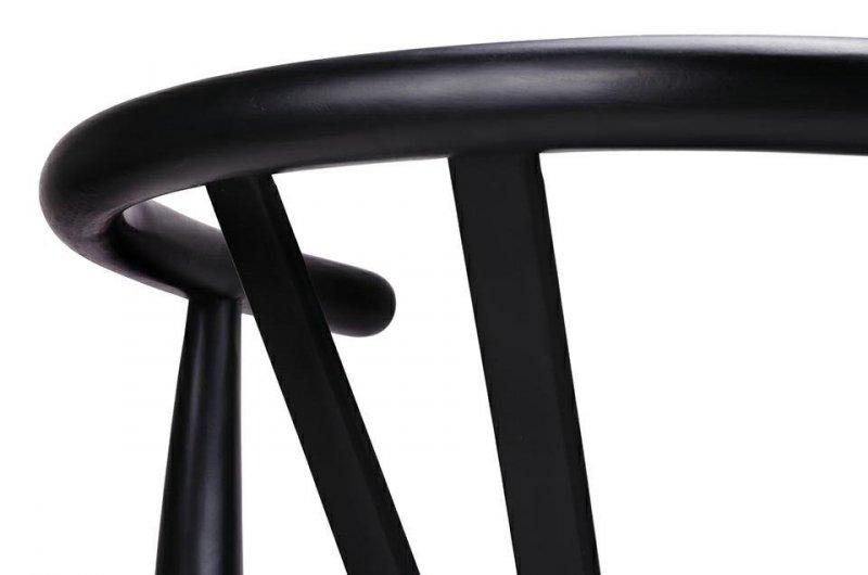 Krzesło WISHBONE czarne