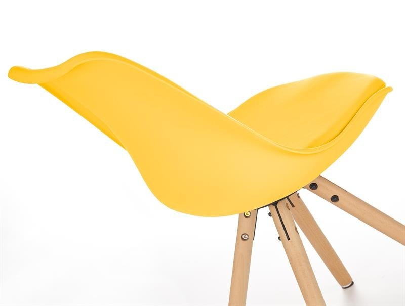 Krzesło K201 żółte