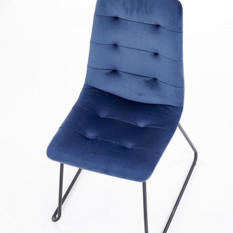 Krzesło K321 granatowe