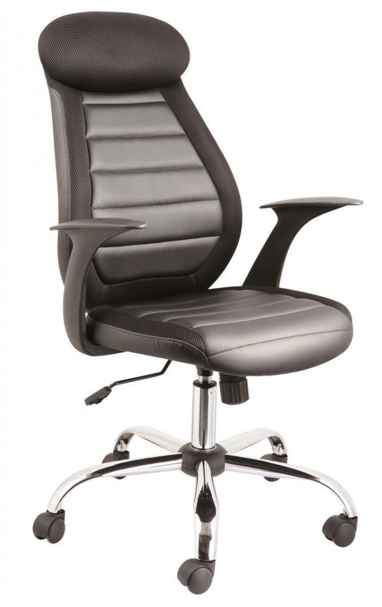 Fotel obrotowy Q102 czarny