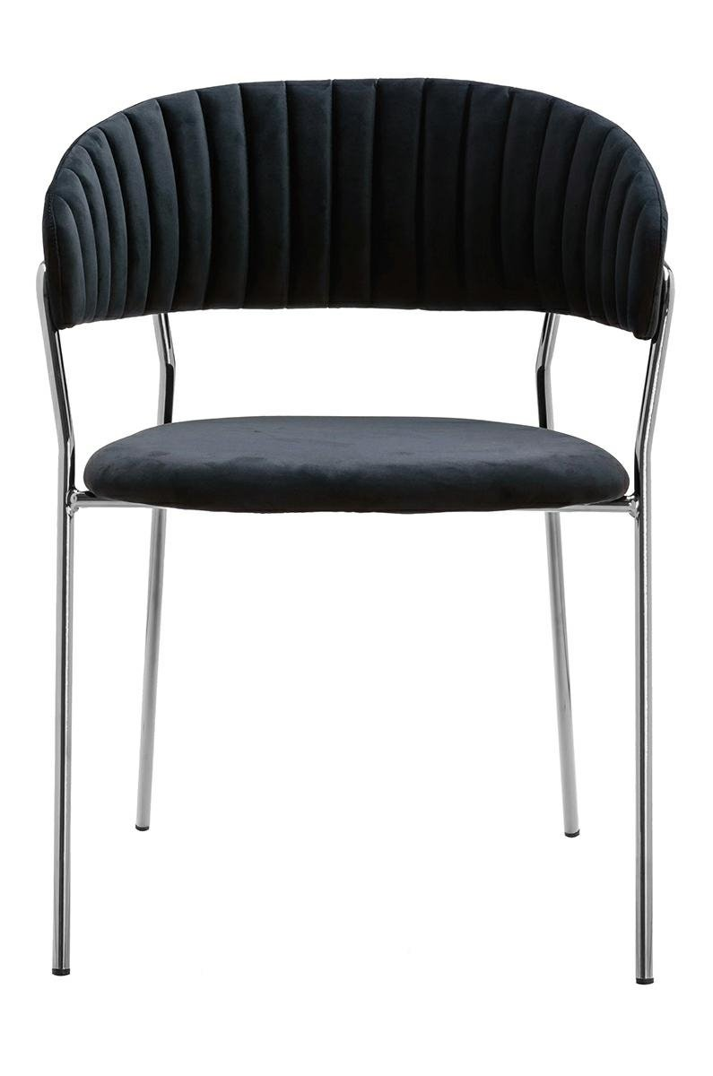 Krzesło MARGO SILVER czarne