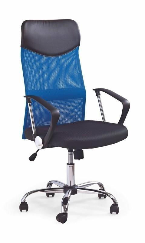 Fotel biurowy VIRE niebieski