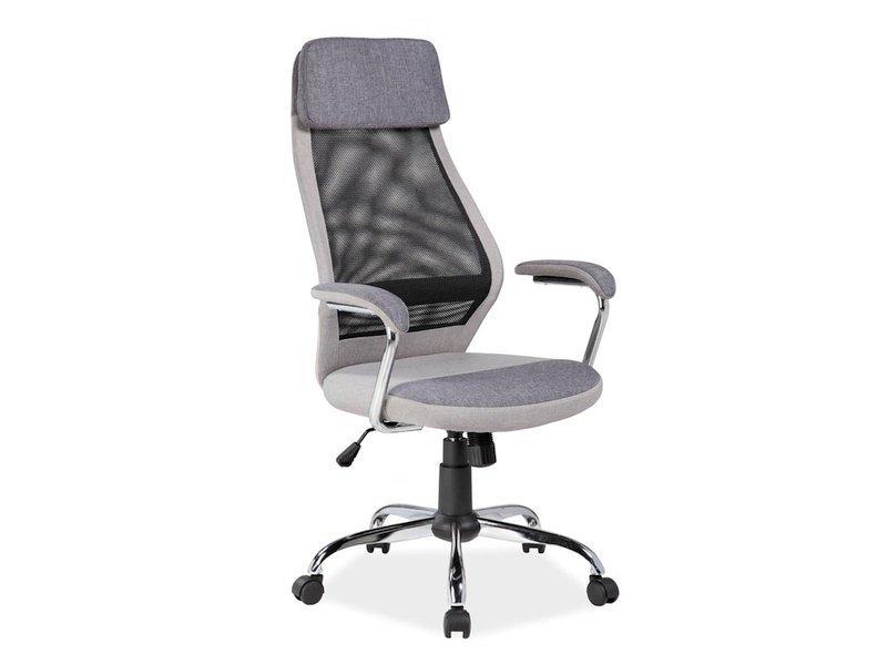 Fotel obrotowy Q336 szary