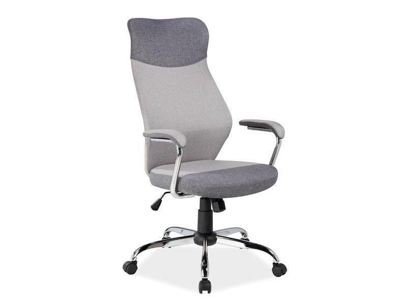 Fotel obrotowy Q319 szary