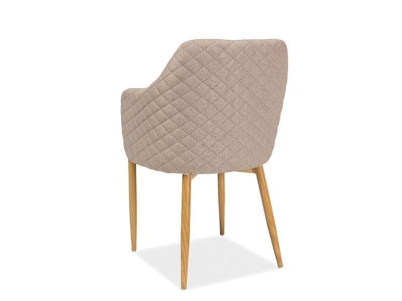Krzesło ASTOR beżowe tył