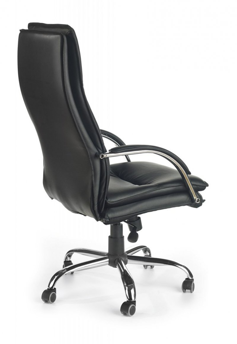 Fotel gabinetowy STANLEY czarny