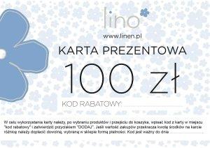 Karta prezentowa 100