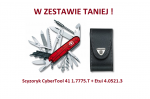 Scyzoryk Victorinox CyberTool 41 1.7775.T + Etui 4.0521.3