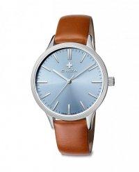 Zegarek damski STELLA, SST, light blue, brown WAT.0631.1001