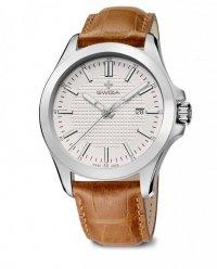 zegarek URBANUS, SST, eggshell, brown WAT.0761.1006