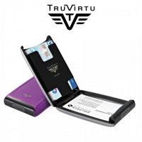 Aluminiowe etui na karty TRU VIRTU CREDIT CARD CASE Purple