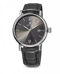 zegarek damski ALZA Gent, SST, anthracite, grey WAT.0141.1004