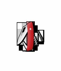 Scyzoryk SWIZA SH01 R KSH.0010.1000 GRAWER NA OSTRZU GRATIS !
