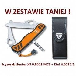Victorinox Hunter XS 0.8331.MC9 w zestawie z etui