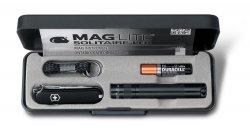 Zestaw z latarką Maglite Solitaire LED w etui 4.4014