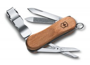 Scyzoryk Victorinox Nail Clip Wood 580 0.6461.63 GRAWER NA OBUDOWIE GRATIS !