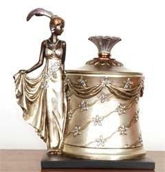 Pudełko na biżuterię Aurora Deco 0331CM
