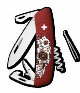 Scyzoryk SWIZA HALLOWEEN D03 Mexican Skull KNB.0030.H012