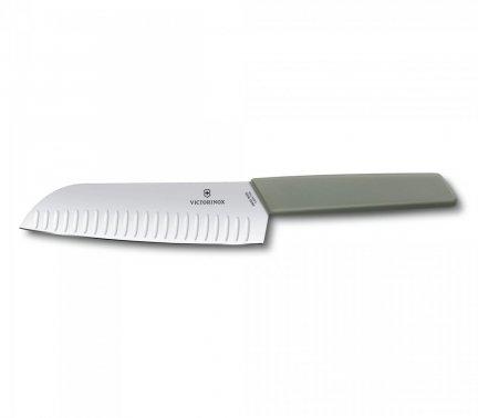 Nóż Santoku Swiss Modern Victorinox 6.9056.17K6B