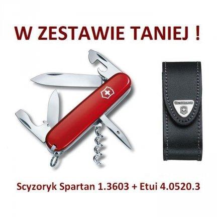 Victorinox Scyzoryk Spartan 1.3603 w zestawie z etui