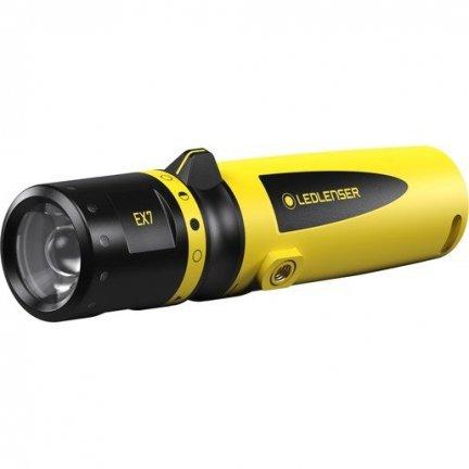 Latarka Ledlenser EX7 Yellow Box