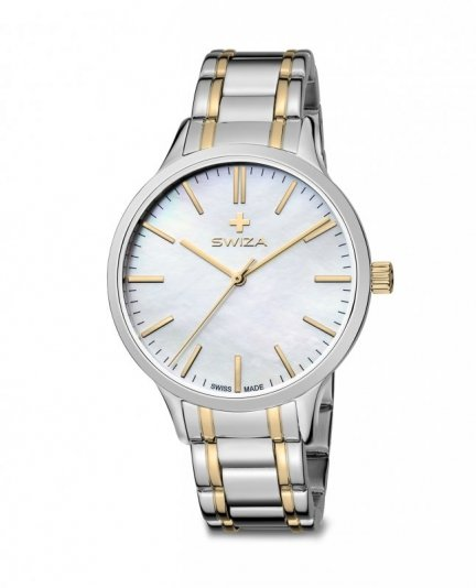 zegarek STELLA, SST, white, metal WAT.0631.2301