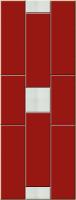 Kalmar Firenze 1600/600 RAL3004/Alu.Sat 1142[W75/65/20]