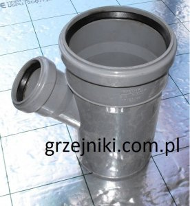 Wavin TRÓJNIK PVC 110/75*67 HT