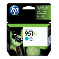 Tusz HP 951XL do Officejet Pro 8100/8600/8610/8620 | 1 500 str. | cyan