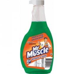 Płyn do szyb MR MUSCLE 500ml zielony - zapas (hpk0900)