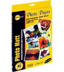 Papier foto Yellow One A4 140g A50 mat. (4M140) (xpk1150)