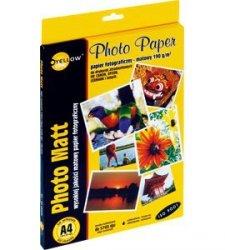 Papier foto Yellow One A4 190g A50 mat. (4M190) (xpk1170)