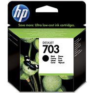 Tusz HP 703 do Deskjet Ink Advantage F730/735   600 str.   black